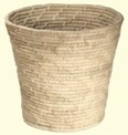 Korghantverk/Basket Crafts - Papperskorg/Litter Bin