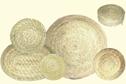 Korghantverk/Basket Crafts - Grytunderlägg/Pot Stand - Grytunderlägg/Pot Stand - Natur/Nature