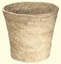 Korghantverk/Basket Crafts - Papperskorg/Litter Bin - Papperskorg/Litter Bin - Natur/Nature