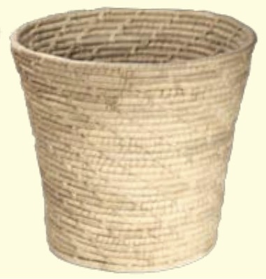 Korghantverk/Basket Crafts - Papperskorg/Litter Bin - Papperskorg/Litter Bin - Natur/Nature