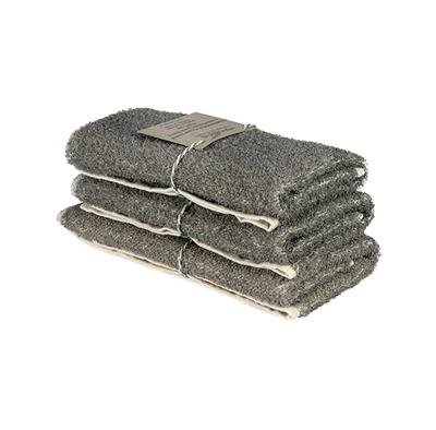 Bad/Bath - Handdukar/Towels, Linnefrotté/Linen Terry - Gästhandduk/Guest towel 35x55 cm: Natur/Nature