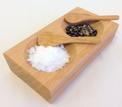 Salt & Pepparskål i trä