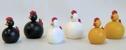 Ljusstake/Candle Holder - Bordsring & dekorationer/Tablering & decorations - Kyckling/Chicken - Vit/White
