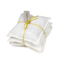 Lavendelkuddar/Lavendel bags - Lavendelkudde/Lavendel bag: Säckväv benvit-citron linsnöre/Burlap offwhite/citrus string