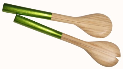 Bambu/Bamboo - Salladsbestick/Salad Servers - Salladsbestick/Salad Servers - Grön/Green