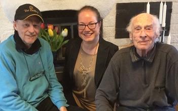Hälsar på Kenneth och Arne Gärdestad, 2016