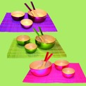 Bordstabletter/Placemats - Bambu/Bamboo