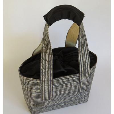 Väska/Bag - Bon - Väska/Bag Bon Large - Svart+Naturvit/Black+naturewhite