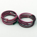 Smycken/Jewelry - uSisi Designs: Armband & Örhängen/Bracelet & Earrings - Armband/Bracelet - Small: Crushed Berries