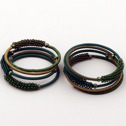 Smycken/Jewelry - uSisi Designs: Armband & Örhängen/Bracelet & Earrings - Armband/Bracelet - Small: Green Tiles