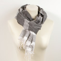 Sjal/Scarf - i ekologisk bomull/in organic cotton