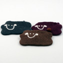 Accessoar/Accessory - Ull/Wool - Myntbörs/Coin Purse - Får/Sheep Myntbörs/Coin Purse - Plommon/Plum