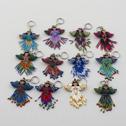 Nyckelringar/Keyrings - Nyckelringar/Keyrings: Ängel kulör/Angel colour