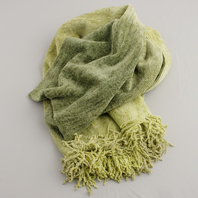Sjal/Scarf - Bambu/Bamboo - Bambusjal/Bamboo Scarf L: Lime