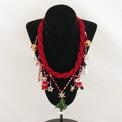Smycken/Jewelry - Artesanias Juanita: Julhalsband/Christmas Necklace