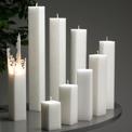 Ljus/Candle - Spindelnätsljus/Spider Web Candle