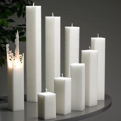 Ljus/Candle - Spindelnätsljus/Spider Web Candle - Spindelnätsljus/Spider Web Candle 25 cm