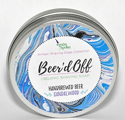 Raktvål/Shaving Soap - Beer'd Off - Raktvål/Shaving Soap - Beer'd Off