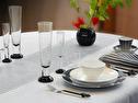 Duk/Cloth - Herr Ask/Mr Ask - Herr/Mr Ask 160x225 cm - Svart/Black