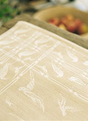 Duk/Cloth - Fiskmåsen/Seagull - Fiskmåsen/Seagull 160x225 cm - Oblekt/Unbleached