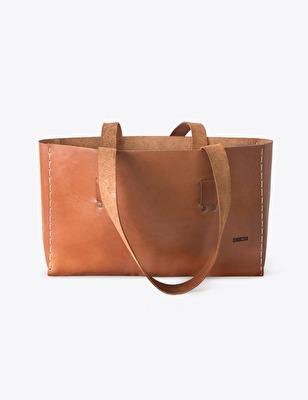 Väska/Bag - Tote - Väska/Brown Bag Tote - Brun/Black