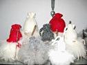 Ull/Wool - Tomte/Santa - Small - Röd Tomte/Red Santa