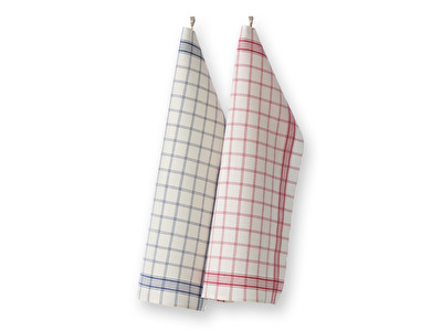 Handduk/Towel - Köksrutan/Kitchen box - Köksrutan/Kitchen box - Blå/Blue
