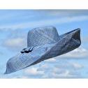 Hatt/Hat - Capeline - Hatt/Hat  Capeline - Pastellblå/Pastel blue