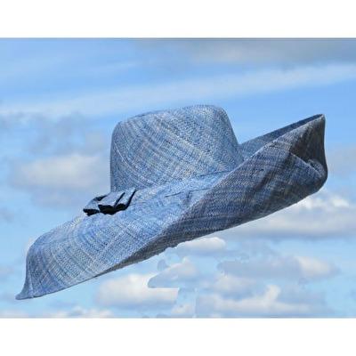 Hatt - Capeline - Hatt Capeline - Pastellblå