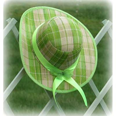 Hatt/Hat - Jabo - Hatt/Hat Jabo - Rutig Anisgrön/Checked Anis Green