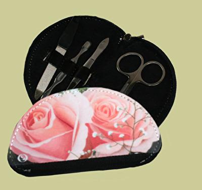 Manikyrset/Manicure set - Rosenprakt/Rose Splendor - Manikyrset/Manicure set - Rosenprakt/Rose Splendor