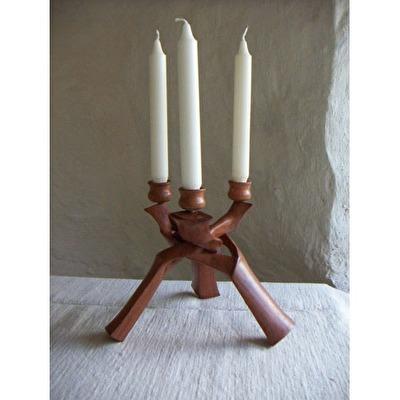 Ljusstake/Candlestick - Trefot/Tripod - Ljusstake/Candlestick - Trefot/Tripod