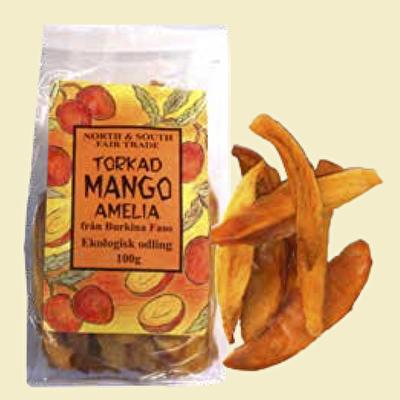 Torkad frukt/Dried fruit - Mango Amelia - Torkad frukt/Dried fruit - Mango Amelia