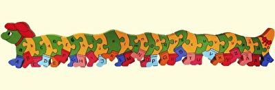 Leksaker/Toys - Alfabetspussel/Alphabet Puzzle - Alfabetspussel/Alphabet Puzzle