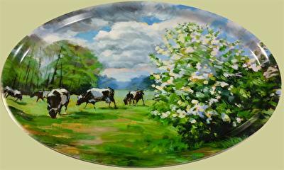 Bricka/Tray - På grönbete/On pasture - Bricka/Tray - På grönbete/On pasture