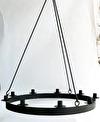 Ljuskrona/Chandeliers - För 9 ljus/For 9 candles Ø 57 cm