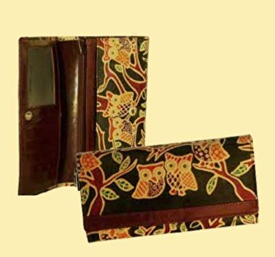 Plånbok: Uggla - Uggla - Stor Plånbok