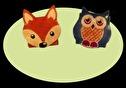Accessoar/Accessory - Börs med motiv/Purse with motif - Börs med motiv/Purse with motif - Uggla/Owl