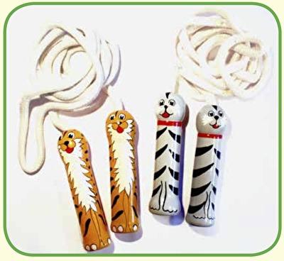 Leksaker/Toys - Hopprep/Jump Rope - Hopprep/Jump Rope - Katt/Cat