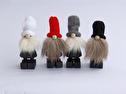 Tomtar/Santas - Tjocktomte/Fat Santas - Tjocktomte Svart med Röd luva/Fat Santa Black with Red cap