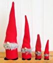 Tomtar/Santas - Tomtefar/Santa Father - 24 cm Tomtefar/Santa Father - Röd/Red