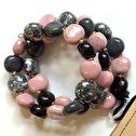 Armband/Bracelets - Tiny Smarty - Armband/Bracelets Smarty: Rose Gray m.o.p