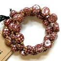 Armband/Bracelets - Tiny Smarty - Armband/Bracelets Smarty: New Peony/White m.o.p