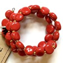 Armband/Bracelets - Tiny Smarty - Bright Red