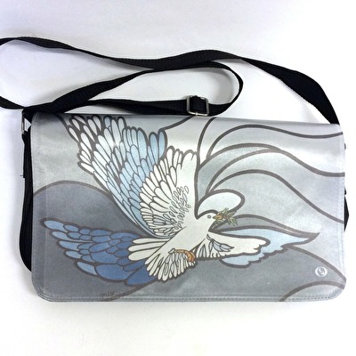 Väska/Bag - Axelremsväska/Shoulder bag - Duva/Dove