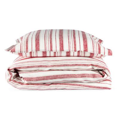 Bädd/Bed: Lakan/Sheets (utgående färger/outgoing colors) - Påslakan Gästabud/Duvet cover Guestbed: Röd/Red