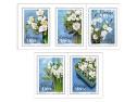 Frimärken/Swedish stamps - Inrikes häfte Vinterblommor