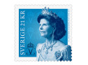 Frimärken/Swedish stamps - Drottning Silvia