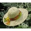Hatt - Makara Floral (Utgående modell) - Hatt - Naturvit