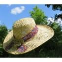 Hatt/Hat - Makara Floral - Hatt/Hat makara floral - Naturvit/Naturewhite